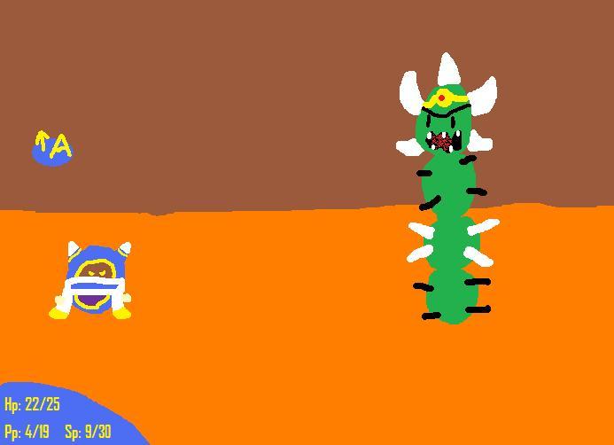 Custom mario and luigi Boss 2: Pokey King by magolorandmarx