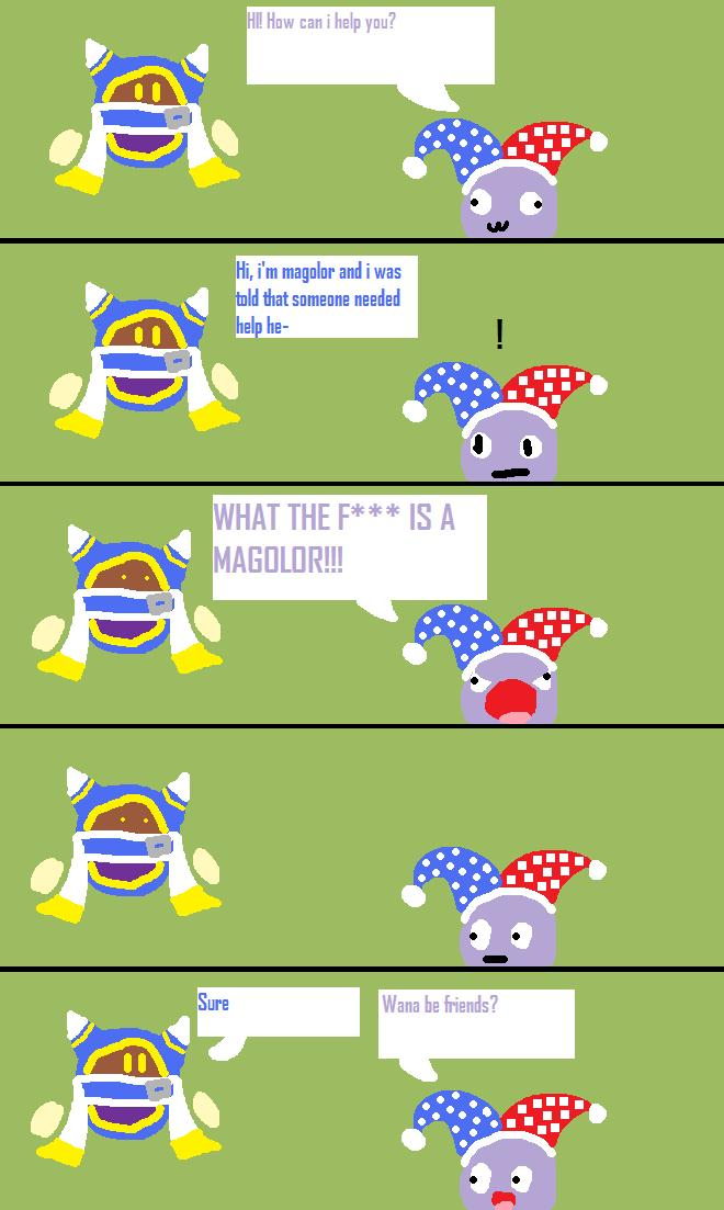 How magolor and marx met by magolorandmarx