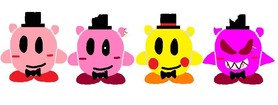 Fnak Kirbys by magolorandmarx