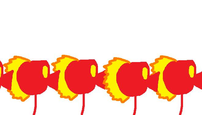 Many Fire Peashooters by magolorandmarx