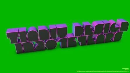 3D TEXT by dktianlu