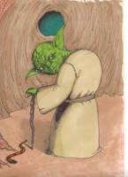 Yoda by eoshek