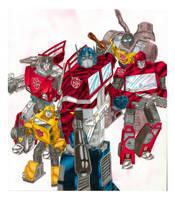 Autobots recolored by eoshek