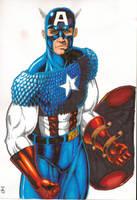 Captain America by eoshek