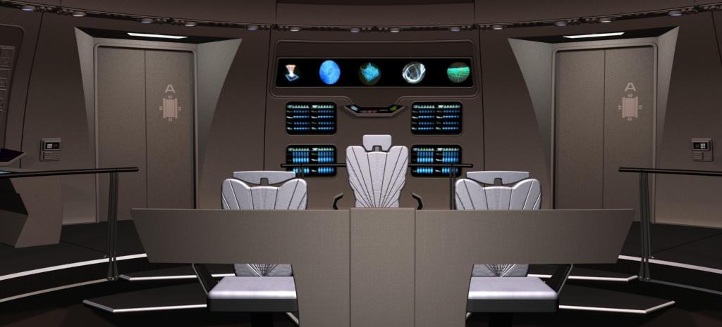 U.S.S. Enterprise circa 2276 by kirinranger