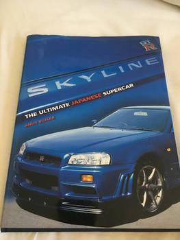 Skyline the ultimate Japanese supercar book
