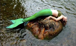 Mermaid Skyla: Exhausted!