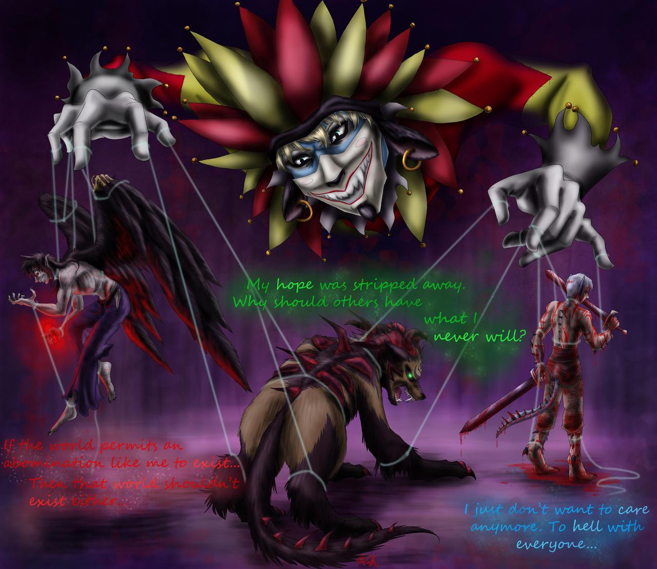 Puppet Master by Xakriuth