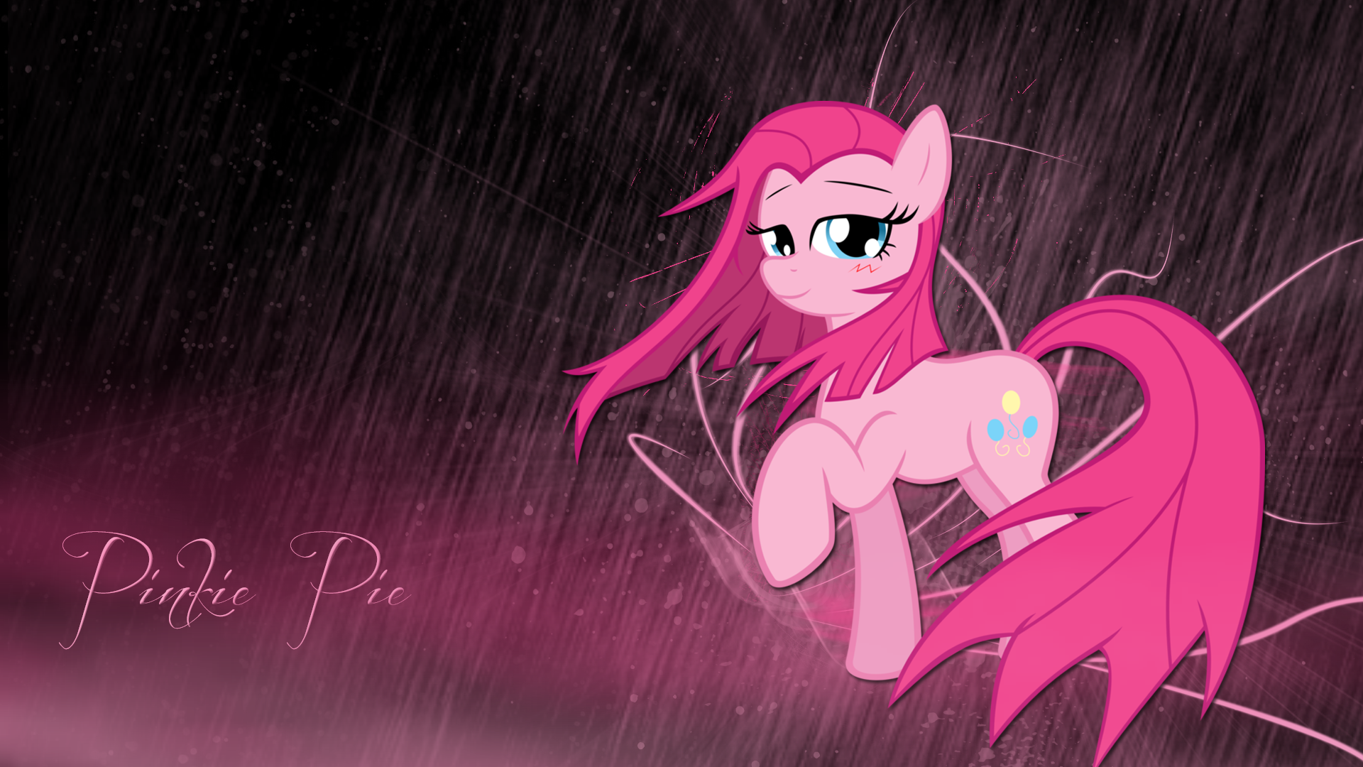 Pinkie Pie wallpaper by LeonBrony