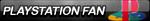 PlayStation Fan Button (Logo Version) by NightB1ader