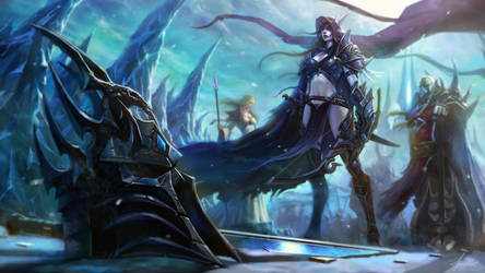 The Fall of Lich king by DRACREN