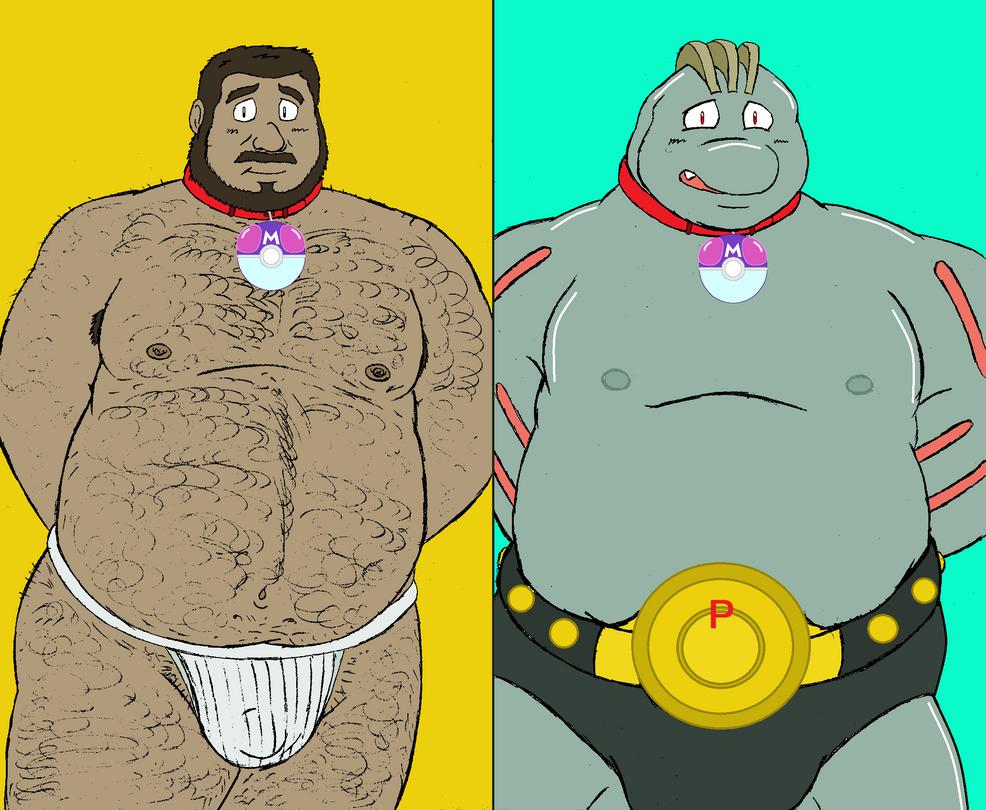 Machoke Suit! by Hide-T-Revo