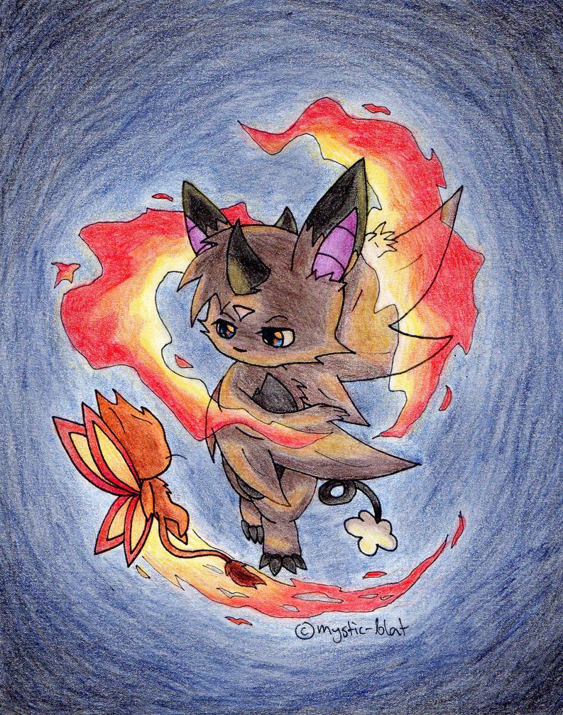 Blat fire spell by mystic-blat