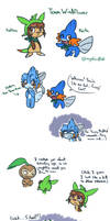 Pokemon Super Mystery Dungeon Doodles by mystic-blat