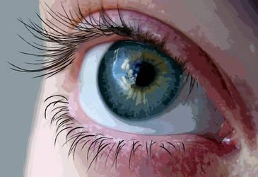An eye for an eye by Tirrithx
