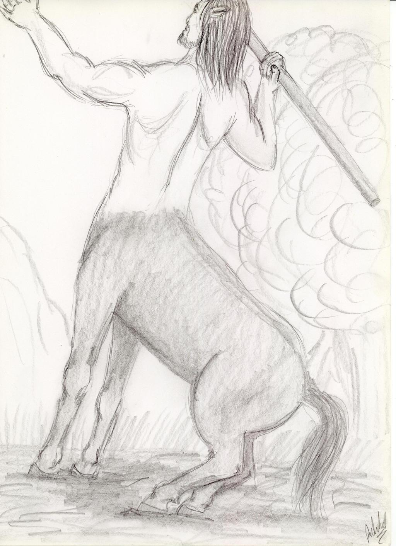 Centaur by KopyKunoichi