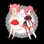 { Commission } Mira and Fukku