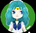 Sailor Neptune Commission for Andrea