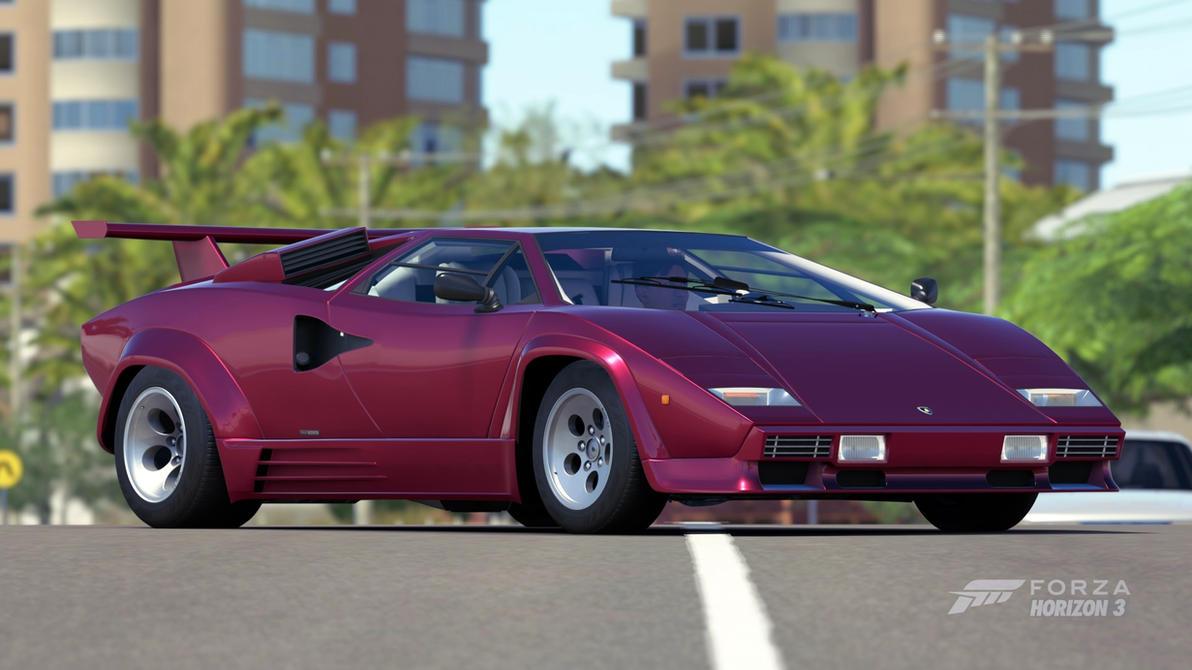 [1988] Lamborghini Countach LP5000 QV By ShoobaruBaja ...