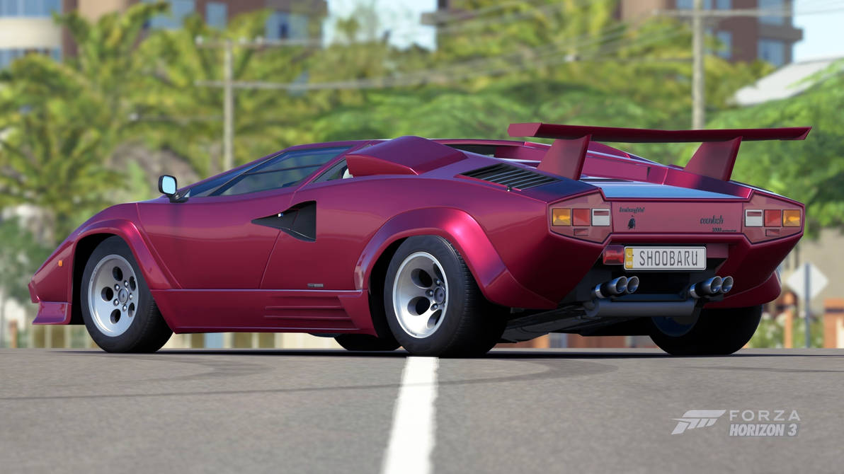 1988 Lamborghini Countach Lp5000 Qv By Shoobarubaja On Deviantart