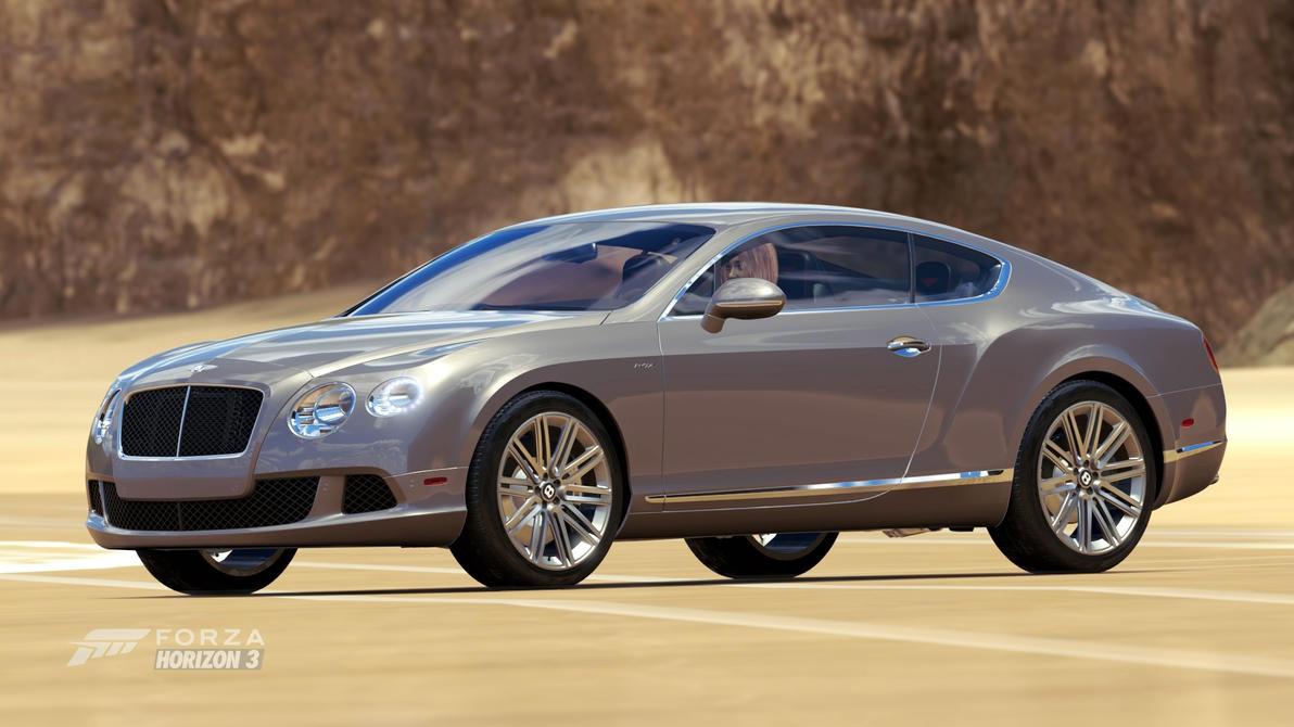 2013 Bentley Continental Gt Speed By Shoobarubaja On Deviantart