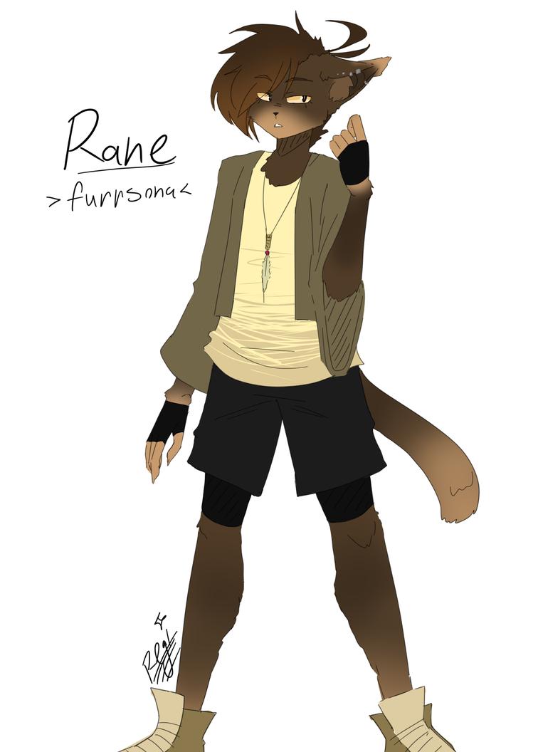 Rane [Furrsona Reference (Redesign)] by RegiREGE