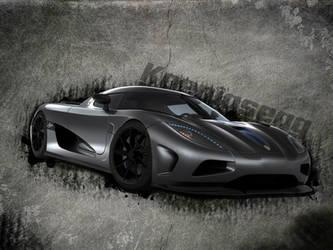 Koenigsegg Wallpaper by BashGfX
