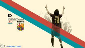 Lionel Messi Wallpaper by BashGfX