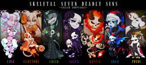 [CLOSED] Skeletal Seven Deadly Sins ADOPTABLE