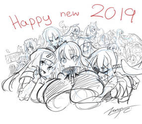 Happy 2019 by Zerion
