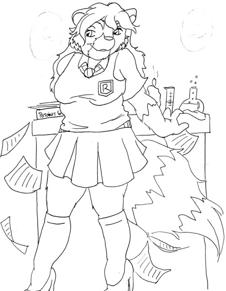 Sexy Ravenclaw - Coon