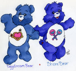 Daydream and Share Bears by moredena