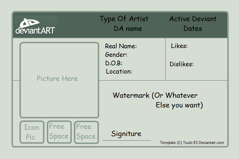 License Id Template by Tsuki-93 on DeviantArt