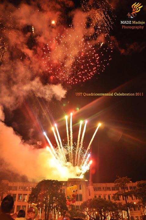 UST Quadri Fireworks