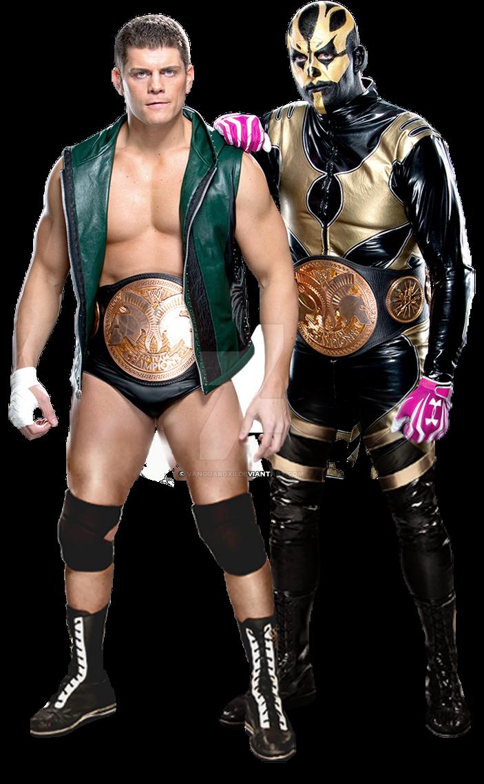Cody Rhodes and Goldust by VanguardXII on DeviantArt