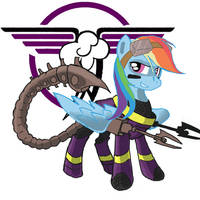 Rainbow Dash - Ministry of Awesome by tomcullen