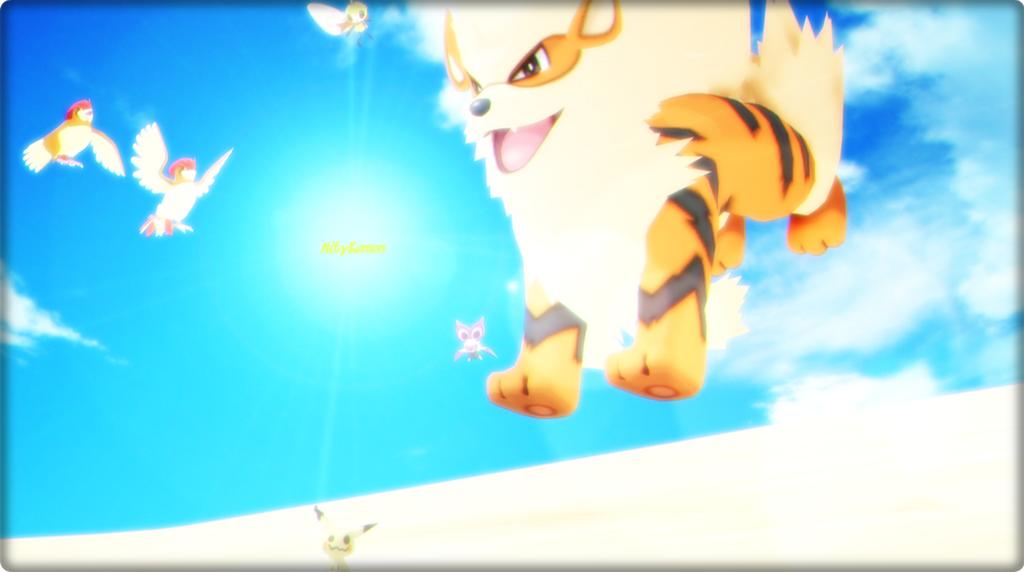[MMD] Pokemon World: ARCANINE, SALTA! by Tykemon