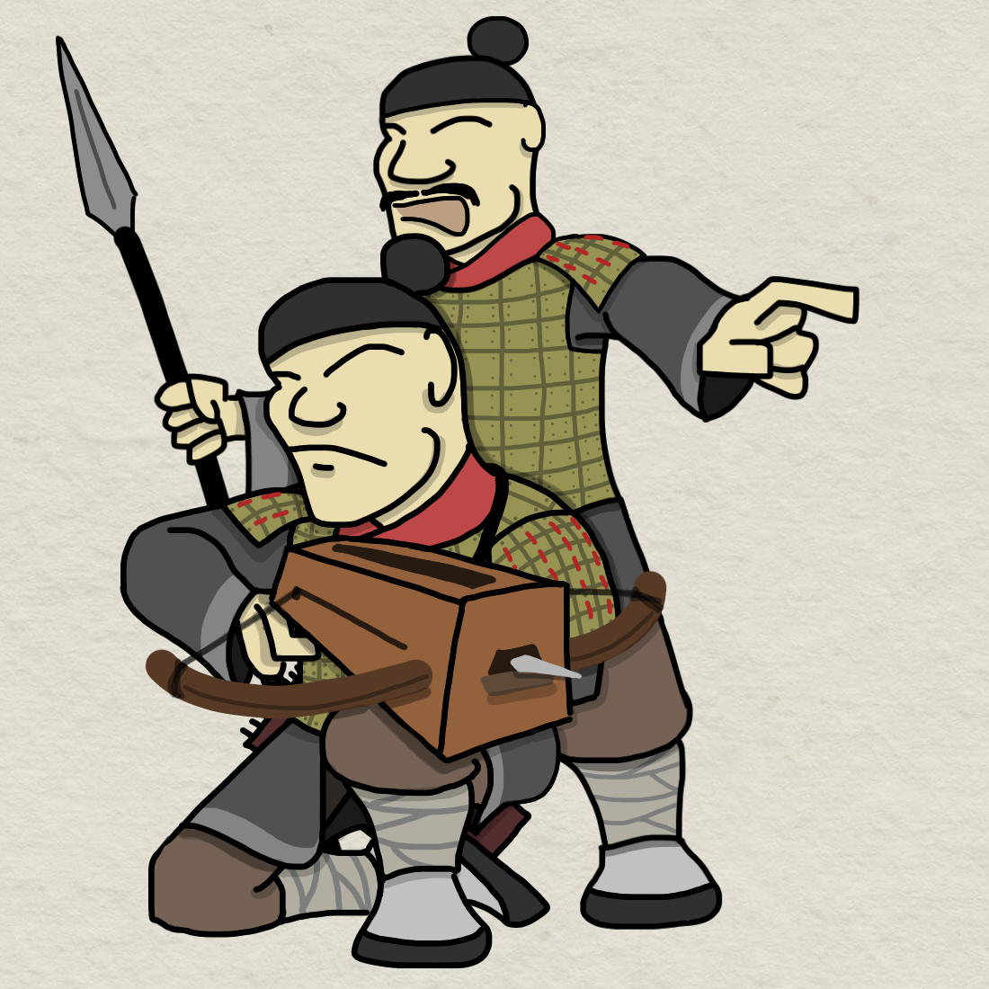 Qin soldiers by foojer