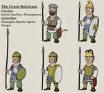 Greco-Baktrian Troopers, mid 3rd-2nd centuries BC