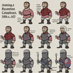 Arming a Byzantine Cataphract