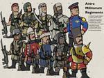 40K Imperial Guard Regiments