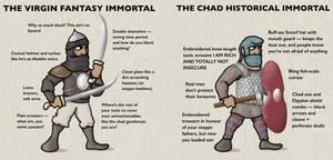 Persian Immortals, Virgin and Chad