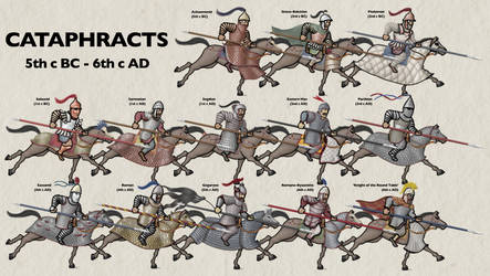 Cataphracts across the world, 5th c BC - 6th c AD