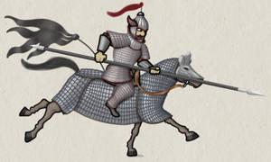 Goguryeo Cataphract, 5th c AD