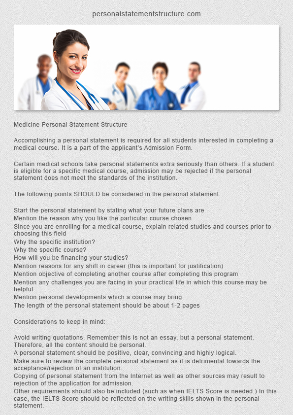 Medical School Application Essay Sample