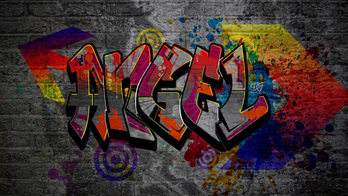 Angel Graffiti by JALDIP