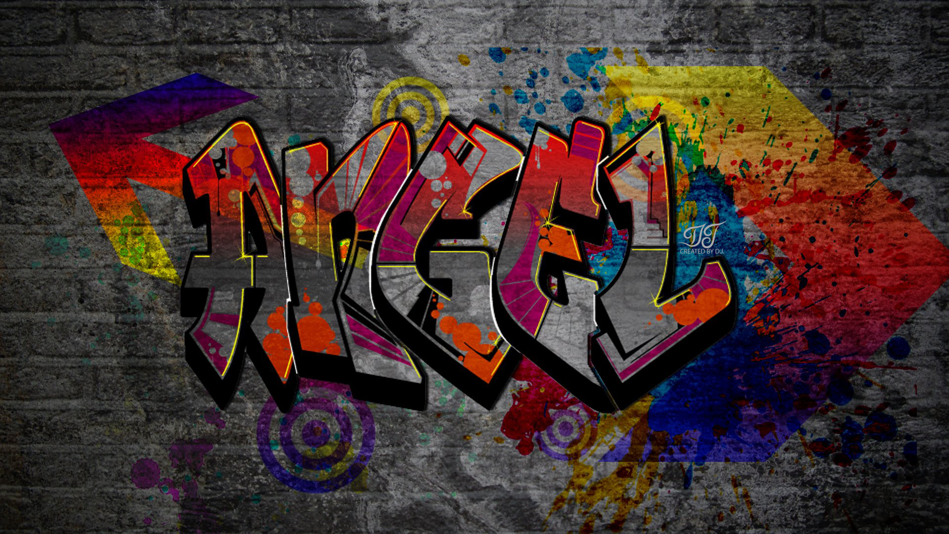 Angel Graffiti by JALDIP on DeviantArt