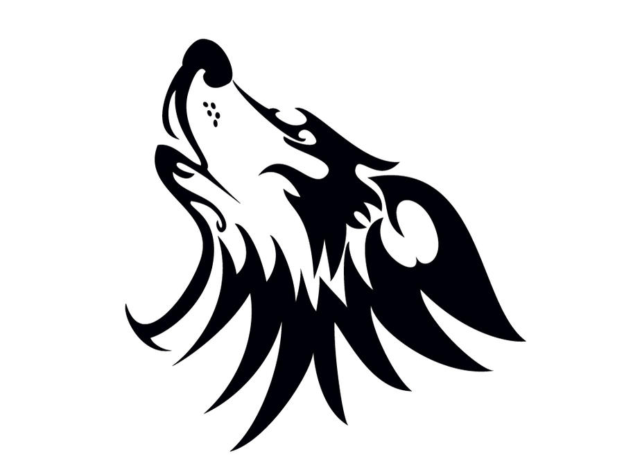Tribal-Wolf-Head by JALDIP on DeviantArt