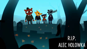 R.I.P. Alec Holowka by HappyMarc1