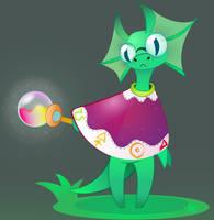 Lizard Alchemist by Gakriele-lvs